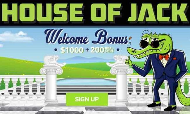 Available Bonuses house of Jack