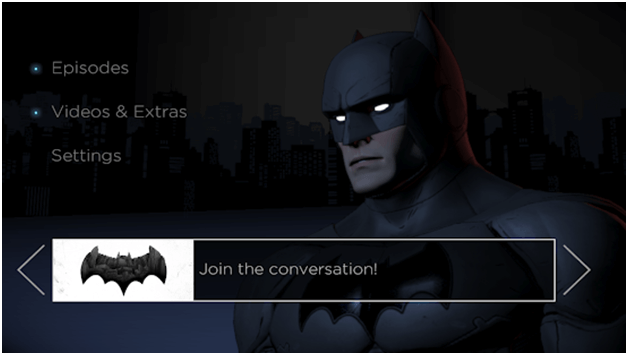 Batman Telltale series games app