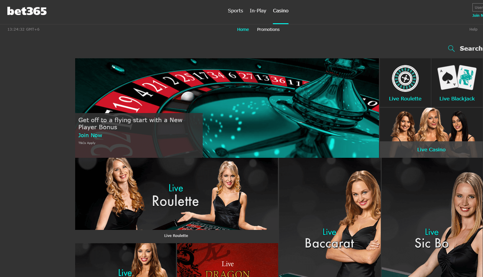 Bet 365 POLi Casino