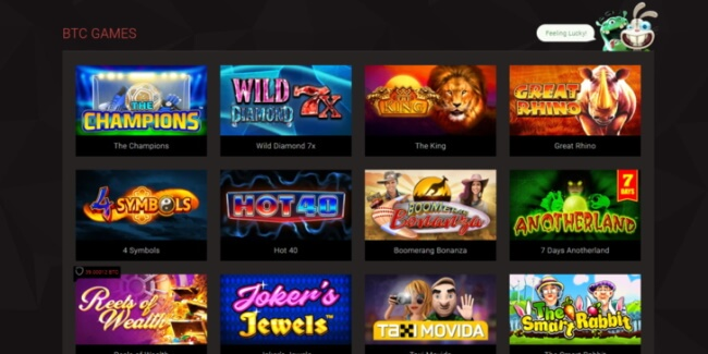 Bitstarz casino Games