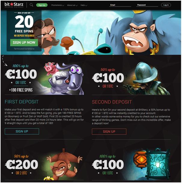 Bitstarz casino bonuses