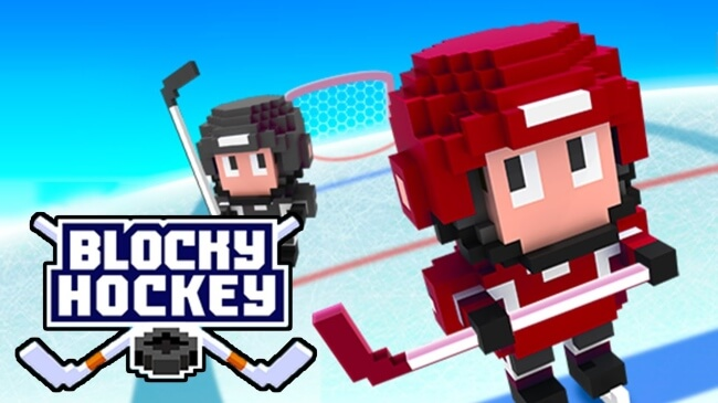 Blocky Hockey Games to Play on Android