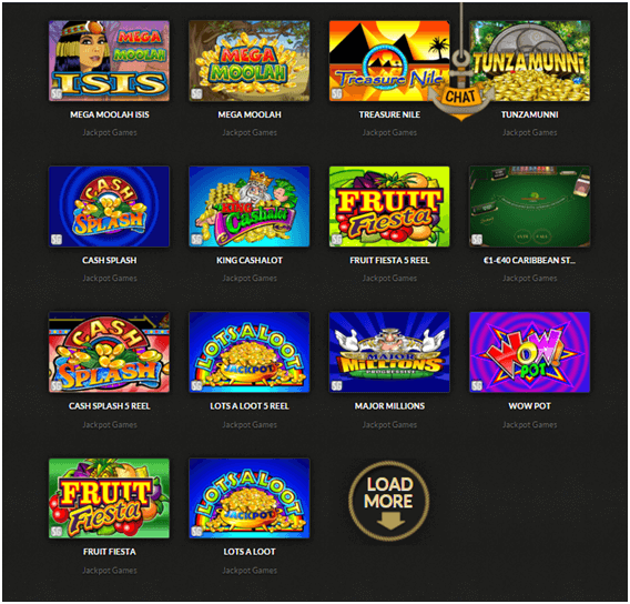 Casino Cruise Jackpot Games