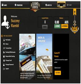 Casino Cruise Samsung Player