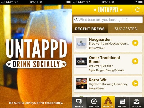 Drinking Apps