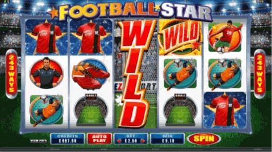 Football Star Pokies Game