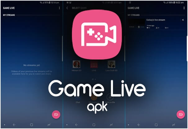 Samsung Game Live App to live stream games to Facebook  Twitch and