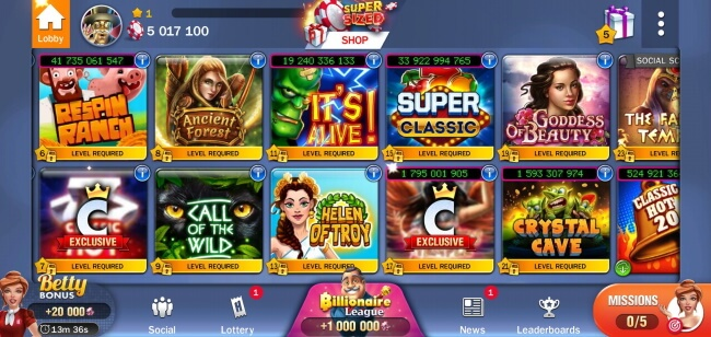 Games you can play with Slots Huuuge Casino App