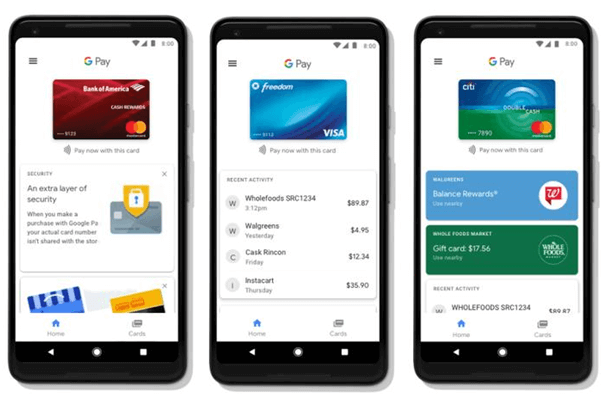 Samsung Pay Vs Google Pay Vs Apple Pay- Compare the different mobile