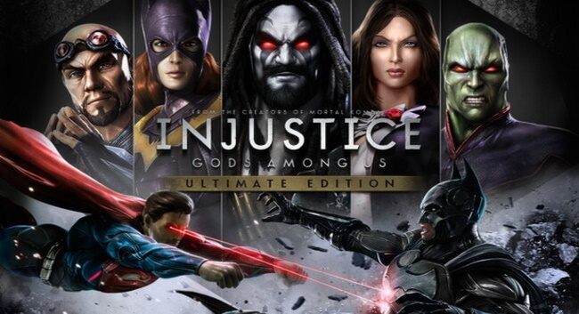 Injustice: Gods Among Us 1 and 2