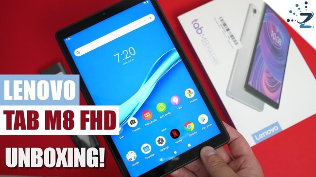 The best small tablet: Lenovo Tab M8 FHD