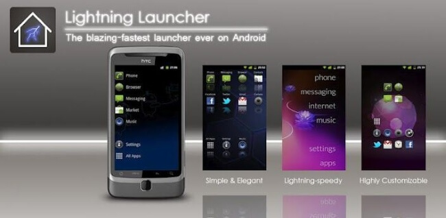 Lightning Launcher Android Launcher App