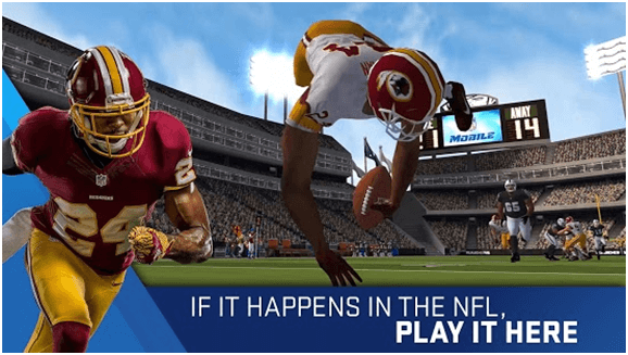 Madden NFL Football Game app for Android Mobile