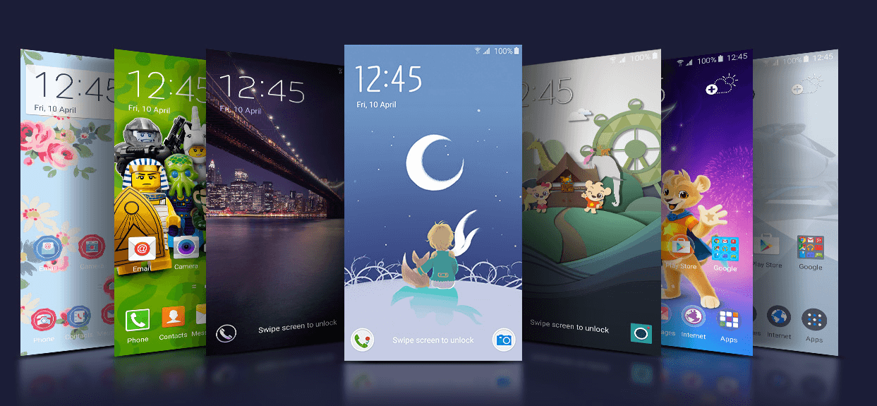 Samsung Galaxy- New Themes
