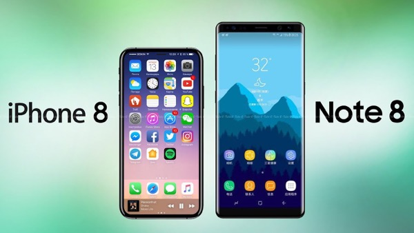 Note 8 vs iPhone