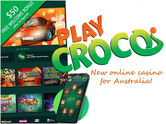 Play Croco The New Samsung Online Casino In Australia