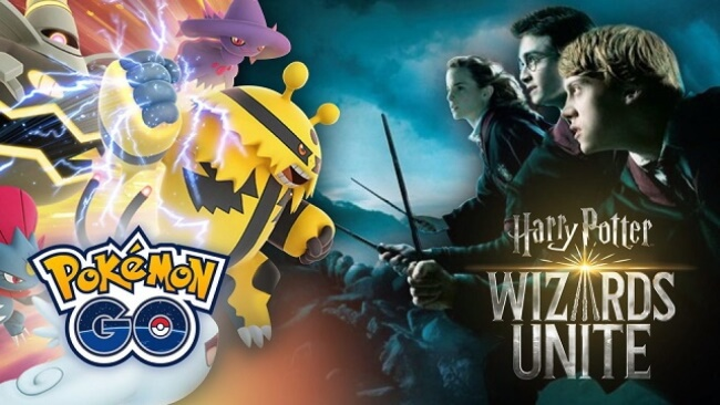Pokemon Go and Harry Potter Wizard's Unite
