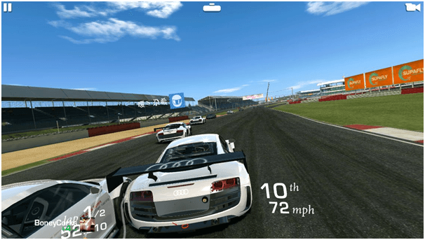 Reel Racing game app