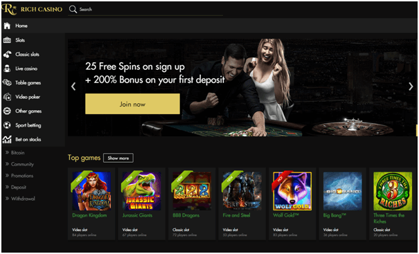 Rich casino samsung app bonuses