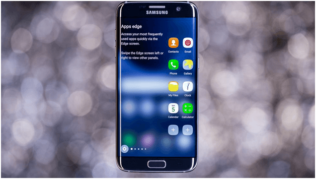 Which Samsung phones have edge screens and curved displays?
