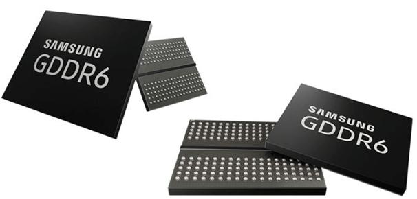Samsung GDDR6 Chip