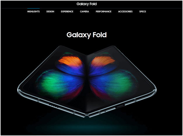 What are the features of Samsung Galaxy Fold