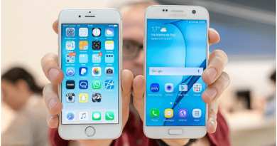 Samsung Galaxy S7 and iPhone S6