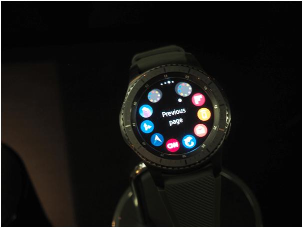 Samsung Gear S 3 Watch