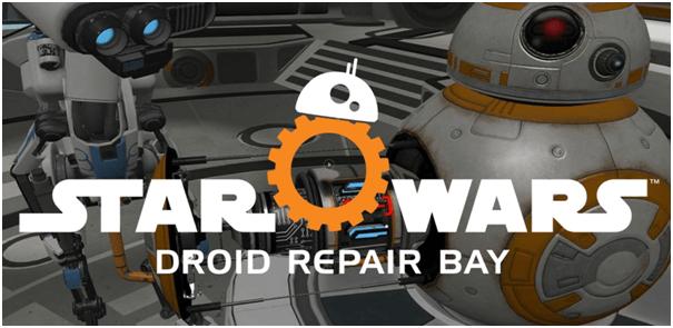 Star Wars VR Samsung Gear game