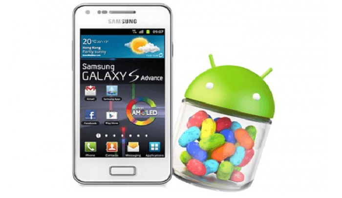 Samsung and Jellybean