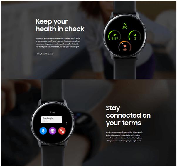 Samsung Watch price in Australia