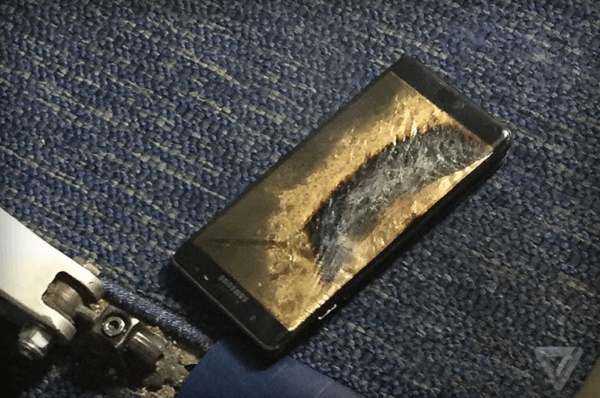 Note 7's Safety