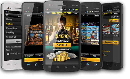 Slotland Casino Samsung App to download