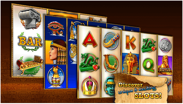 Slots Pharaoh's Way App Features