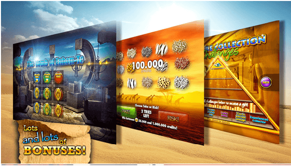 Slots Pharaoh's way app Bonuses
