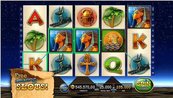 Slots Pharaoh's Way App