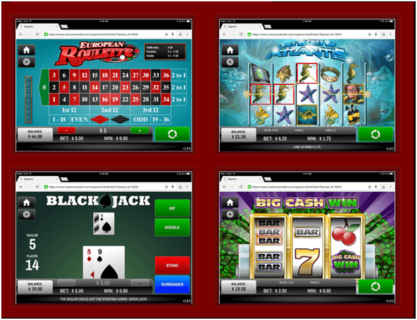Superior casino Samsung app download