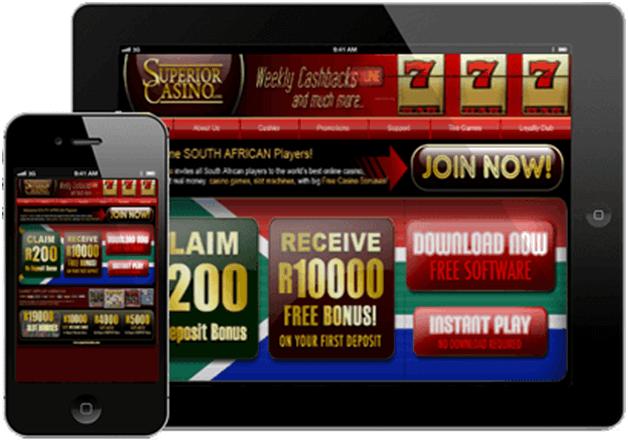 Superior casino samsung app