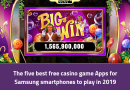 The five best free casino game Apps for Samsung smartphones to play in 2019