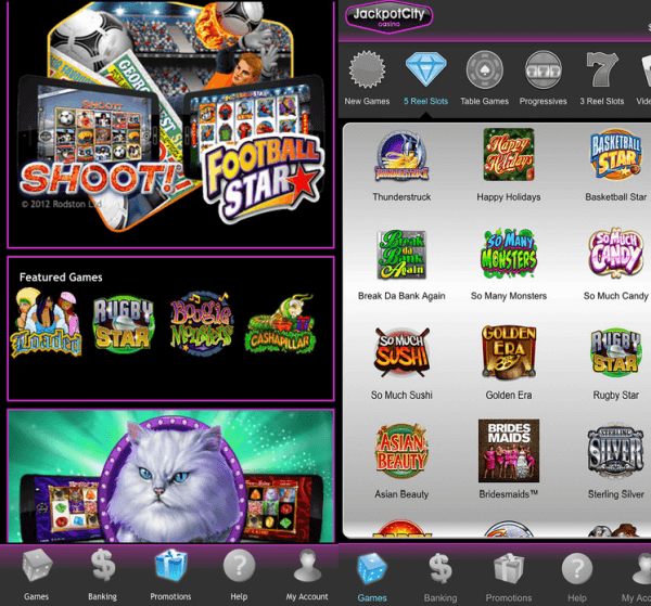 Jackpot City Casino Mobile