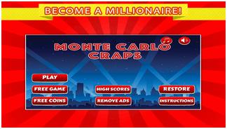 Monte Carlo Craps