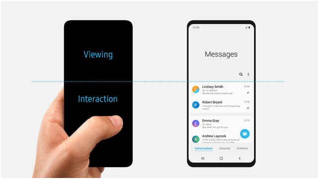 samsung One UI Features