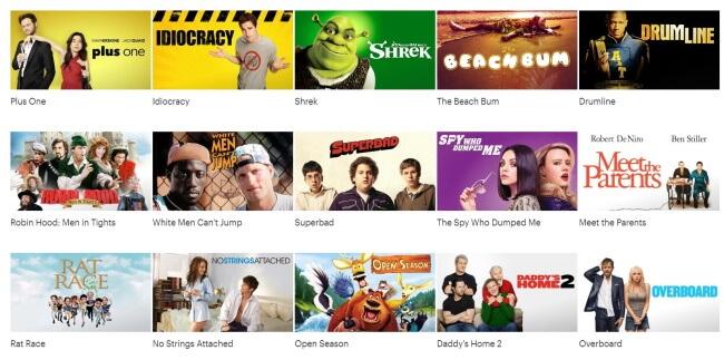Top 5 Funny Movies on Hulu